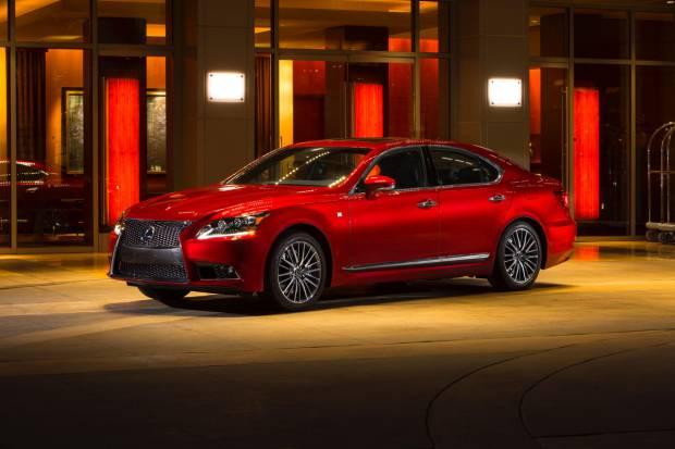 Ya a la venta la versión 2014 del Lexus LS 600h