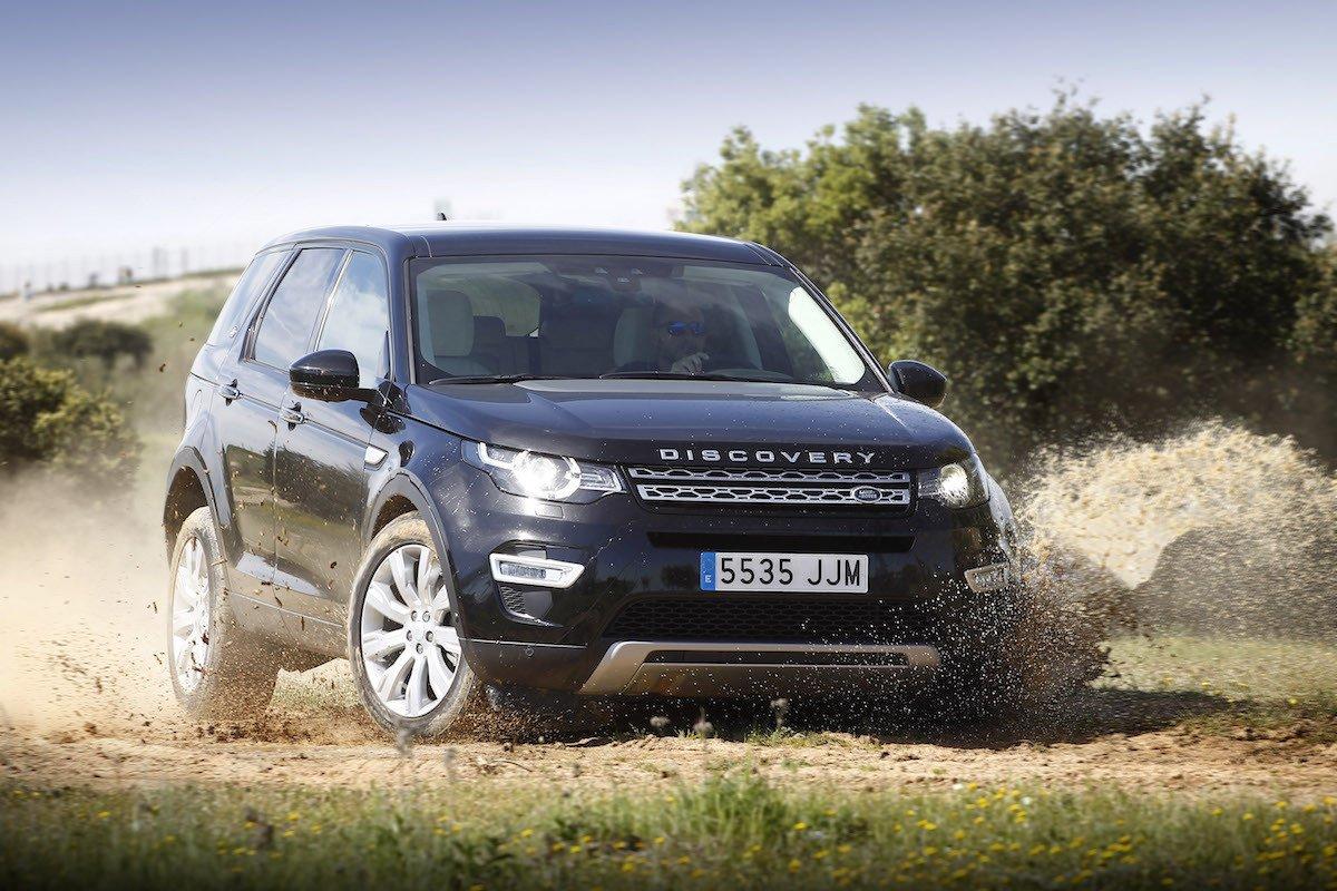 Prueba Land Rover Discovery Sport 2017
