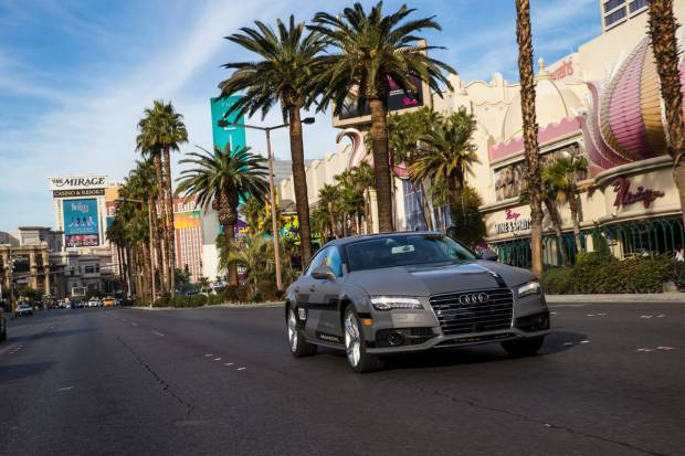 El Audi A7 piloted driving concept recorre 885 km por carreteras abiertas