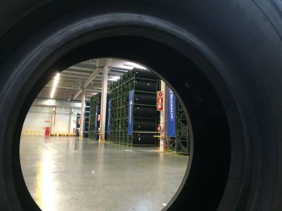Así es el nuevo centro de distribución Michelin para España y Portugal
