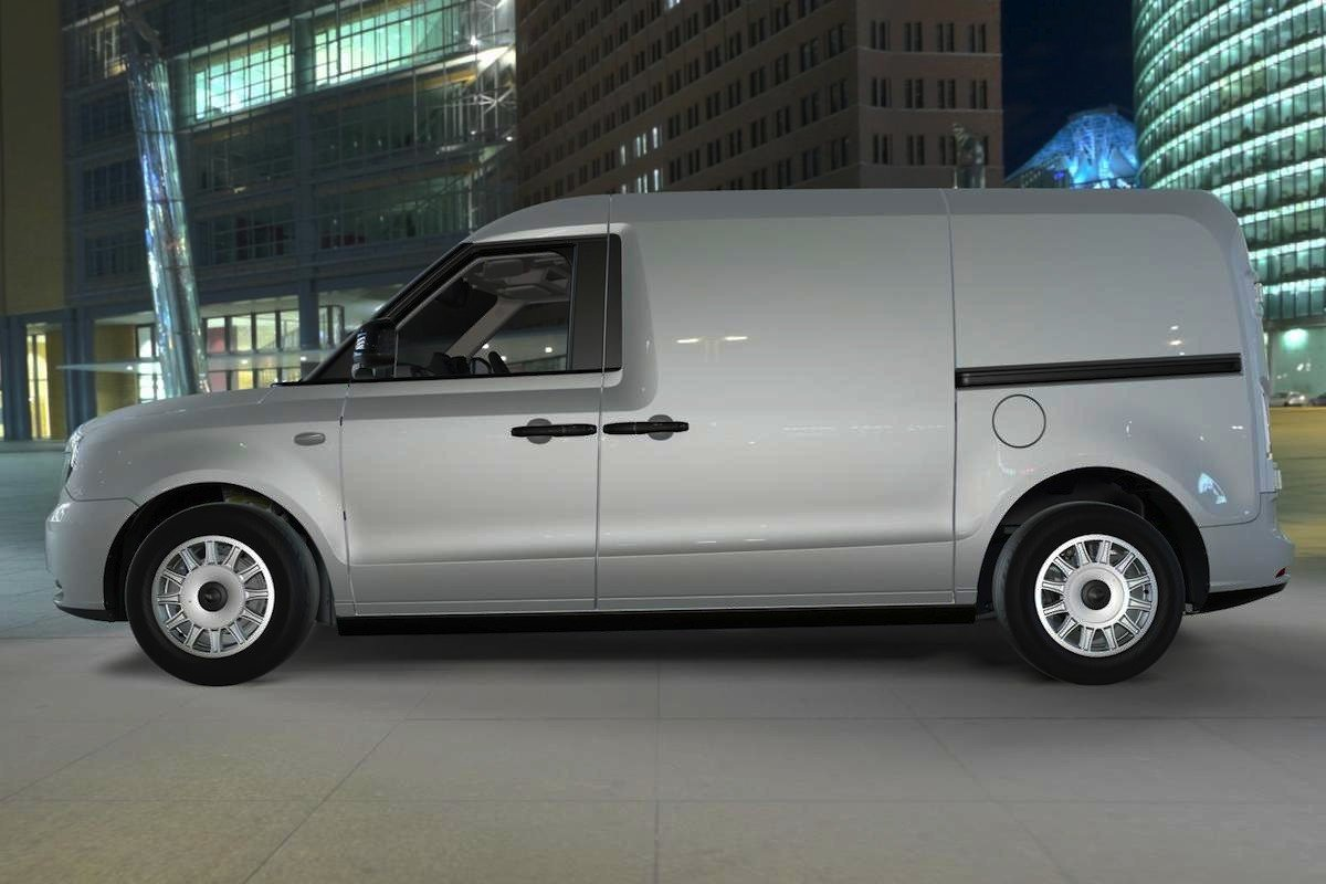 LEVC furgoneta eléctrica londres