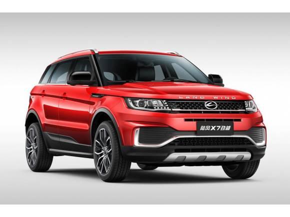 Landwind X7: así es la nueva copia china del Range Rover Evoque