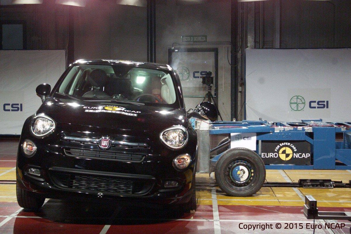Fiat 500X EuroNCAP