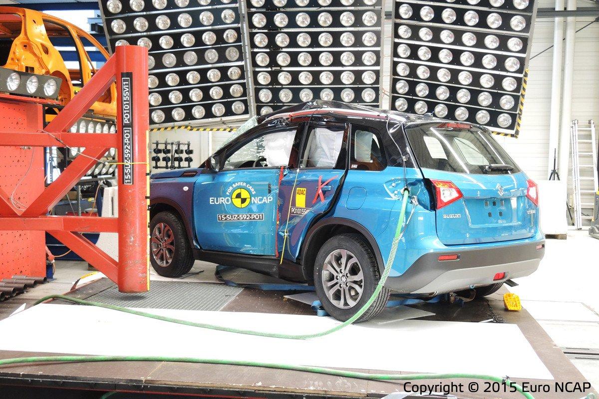 Suzuki Vitara EuroNCAP
