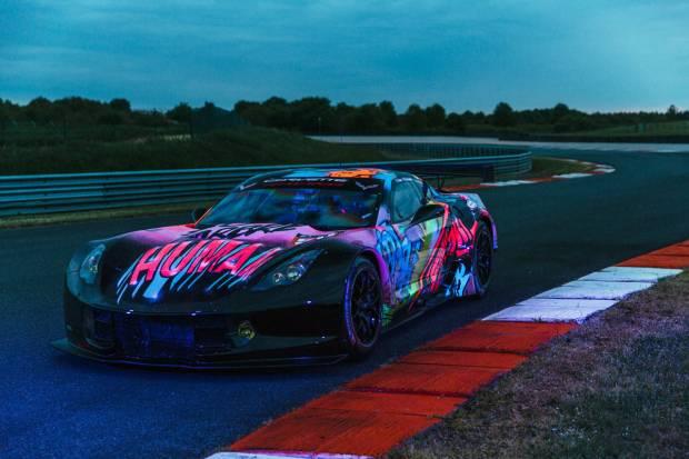El Corvette C7.R flourescente que llamará la atención en las 24 Horas de Le Mans