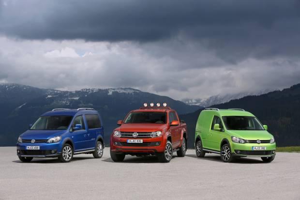 Nuevos Volkwagen Amarok Canyon y Volkswagen Cross Caddy