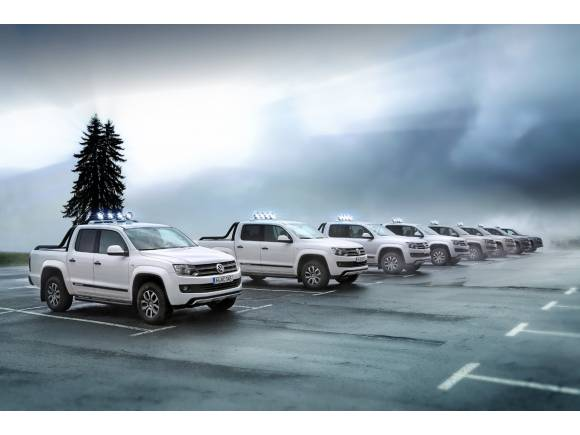 Nuevos Volkwagen Amarok Canyon y Volkswagen Cross Caddy