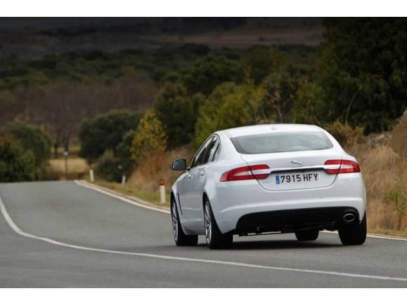 Prueba 10: Jaguar XF 2.2 Diesel, la alternativa a BMW, Audi y Mercedes