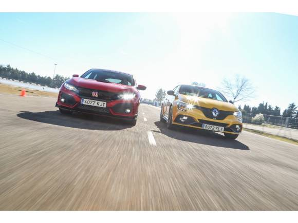 Comparativa: Honda Civic Type R vs Renault Mégane R.S.