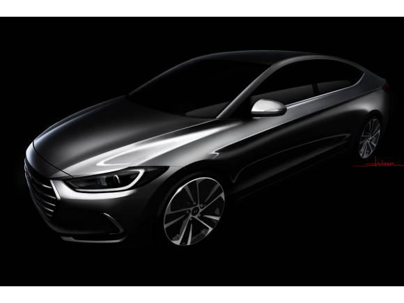 Hyundai desvela las líneas del nuevo Elantra