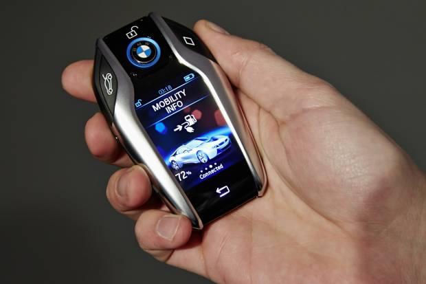 Las llaves de coche del futuro