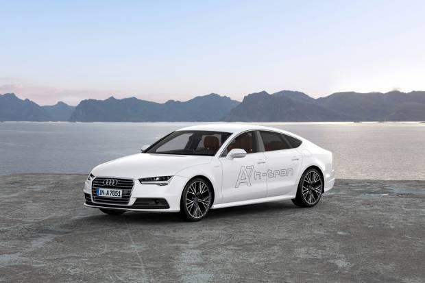 Audi A7 Sportback h-tron, el primer Audi con pila de combustible