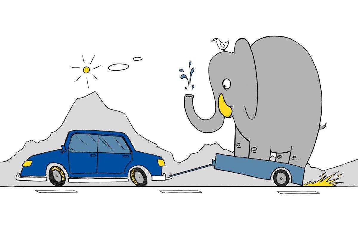 conducir con remolque