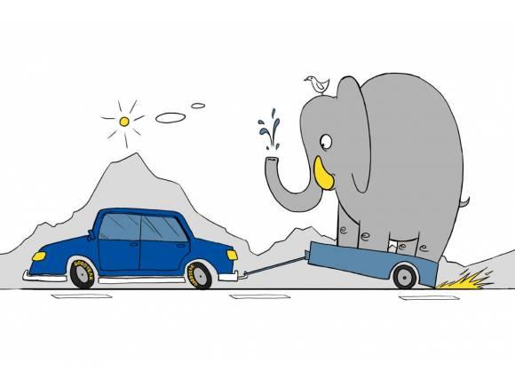 10 claves para conducir un coche con remolque