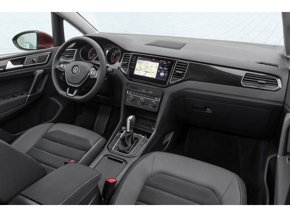 Actualización del Volkswagen Golf Sportsvan para el Salón de Frankfurt