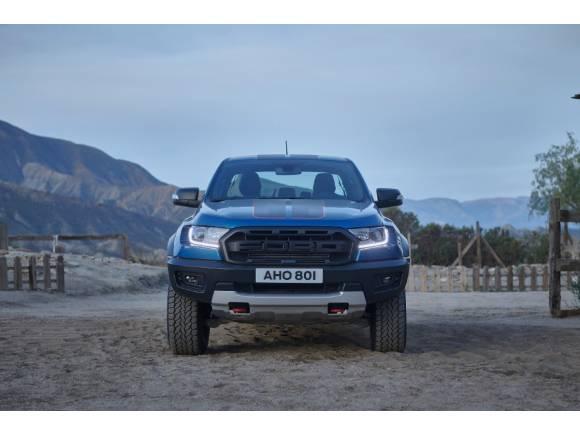 VÍDEO: El Ford Ranger Raptor Special Edition demuestra pura deportividad en un western
