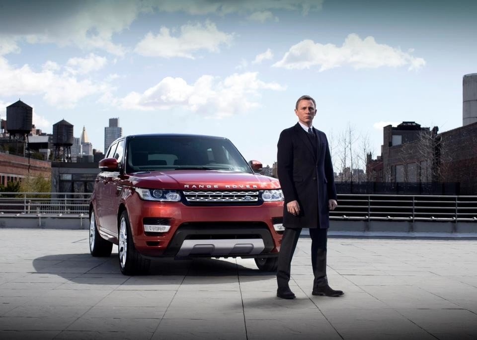 Range Rover Sport 2013 - Daniel Craig