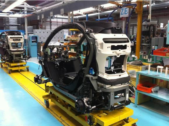 Así se fabrica un Renault Twizy