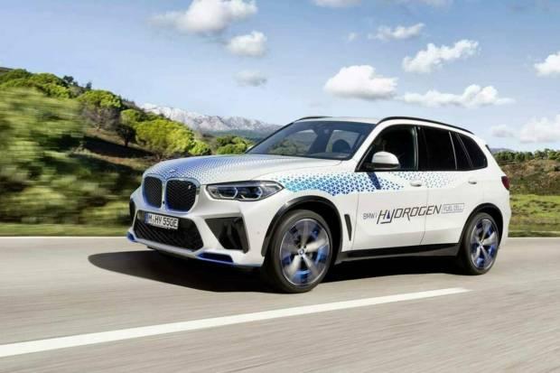 BMW iX5 Hydrogen: el futuro se presenta en el IAA de Múnich