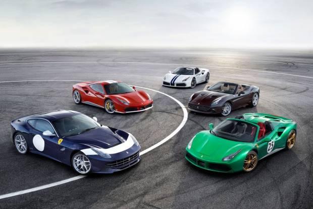 Ferrari creará 350 unidades limitadas para celebrar su 70 aniversario