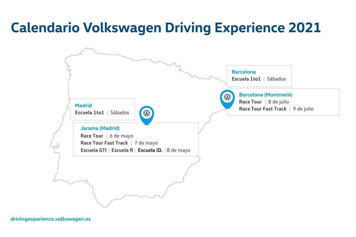 Volkswagen Driving Experience 2021