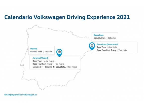 Volkswagen Driving Experience 2021: circuitos, fechas y precio de los cursos