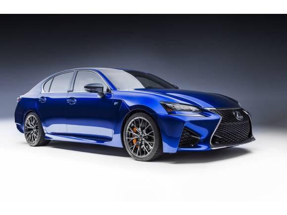 Lexus GS F: larga vida al V8