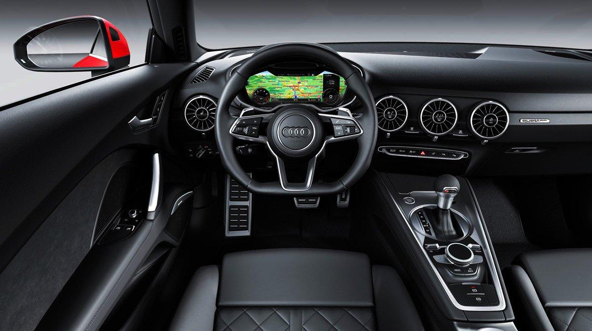 Nuevo Audi TT interior