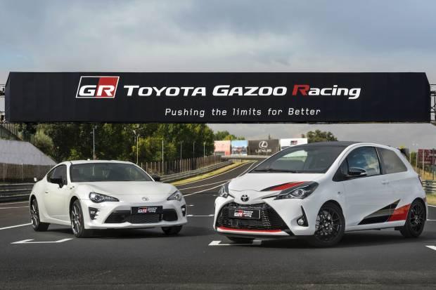 Prueba la gama deportiva de Toyota con las GR Experiences