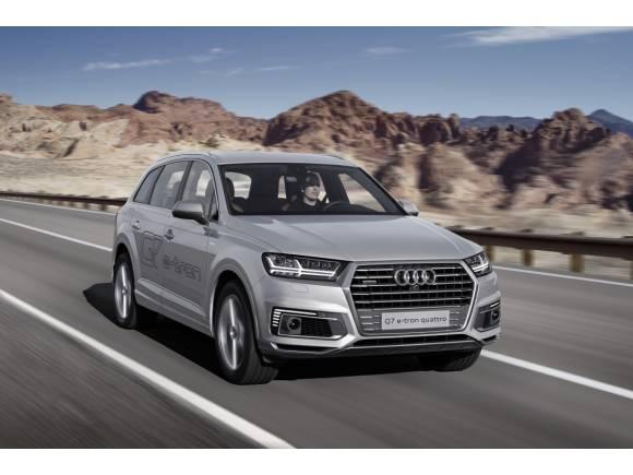 Audi Q7 e-tron 2.0 TFSI quattro: otro SUV híbrido de Audi, sólo para China