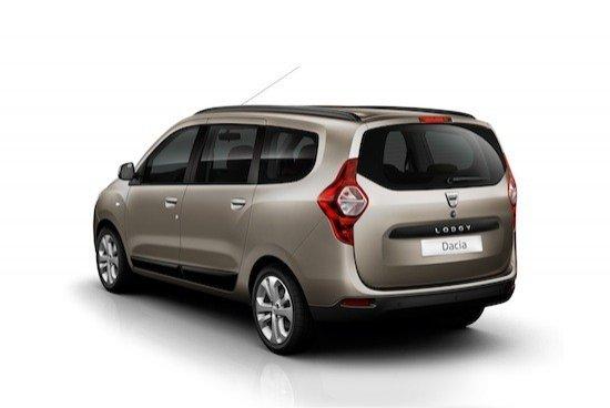 El nuevo Dacia Lodgy medirá 4,5 metros y tendrá capacidad para siete personas.