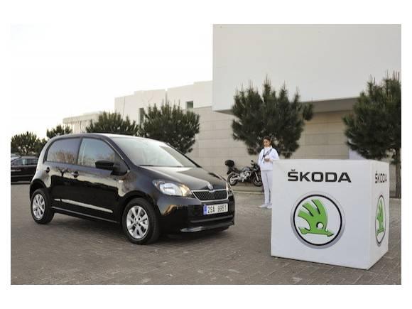 Skoda Citigo, con frenada automática de emergencia