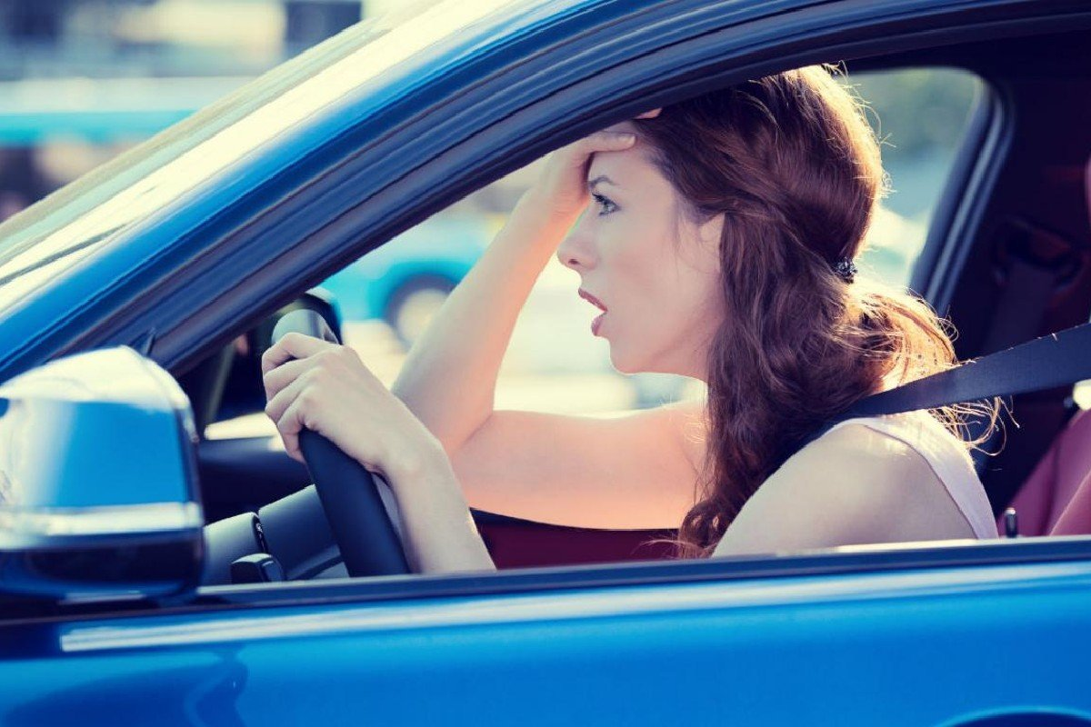 estrés conducción
