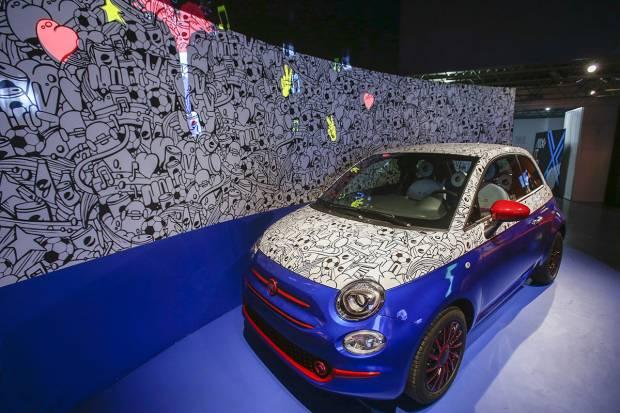 Garage Italia Customs crea el Fiat 500 Pepsi