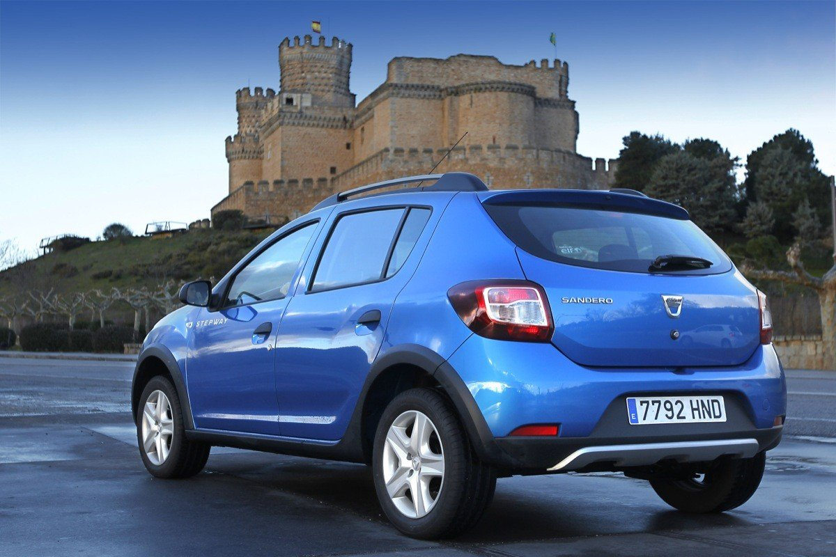 prueba 10 dacia sandero stepway. Black Bedroom Furniture Sets. Home Design Ideas