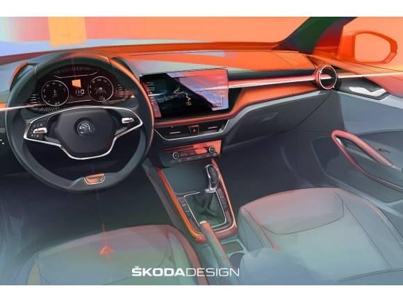 Skoda Fabia 2021: así es su innovador interior