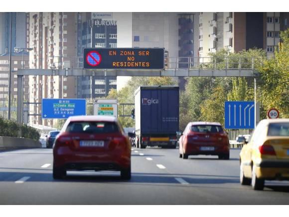 Madrid perdona las multas en la M-30 de los días 12 y 13 de noviembre