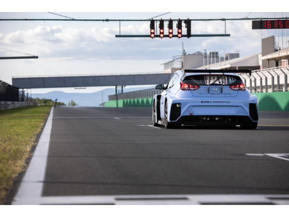 Hyundai presenta su coche eléctrico para el Mundial de Turismos
