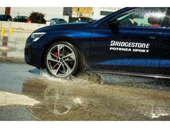 Prueba de los nuevos Bridgestone Potenza Sport: neumáticos de altas prestaciones
