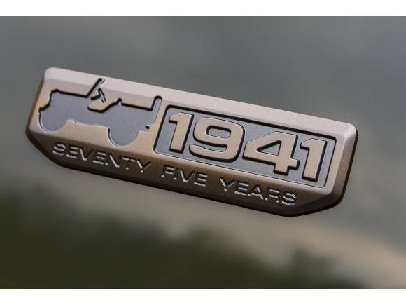 Gama Jeep 75th Anniversary, con acabados especiales