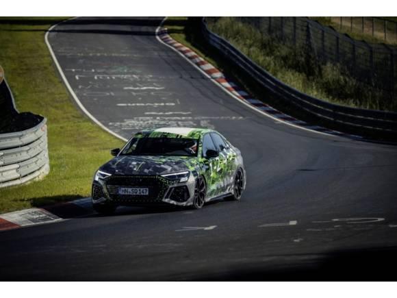 El Audi RS3 es el compacto más rápido en Nürburgring