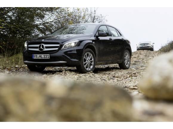 Prueba: Mercedes GLA, más atractivo y práctico que un Clase A