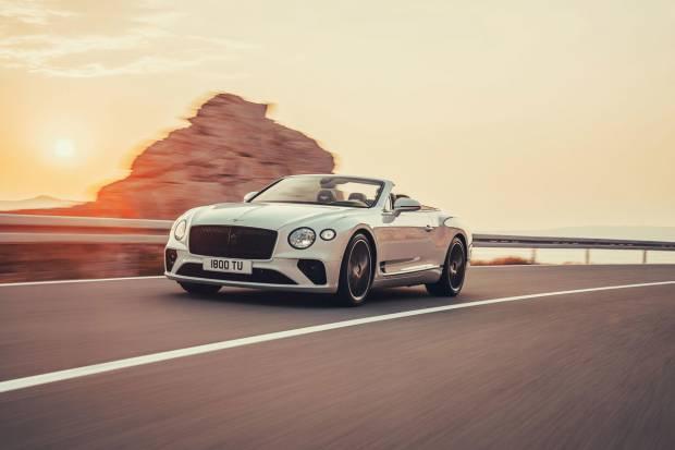 Nuevo Bentley Continental GT Convertible: lujo a techo descubierto