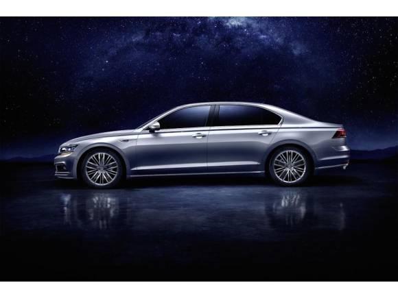 Nuevo Volkswagen Phideon, berlina de gran lujo para China