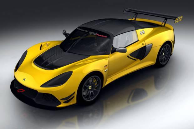 Nuevo Lotus Exige Race 380: listo para circuito