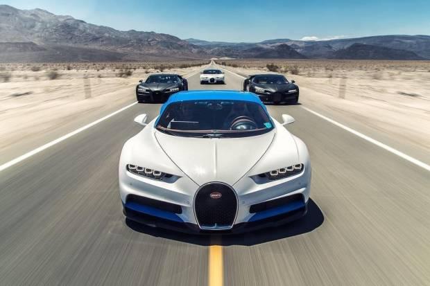 Vídeo: pruebas del Bugatti Chiron en el Valle de la Muerte