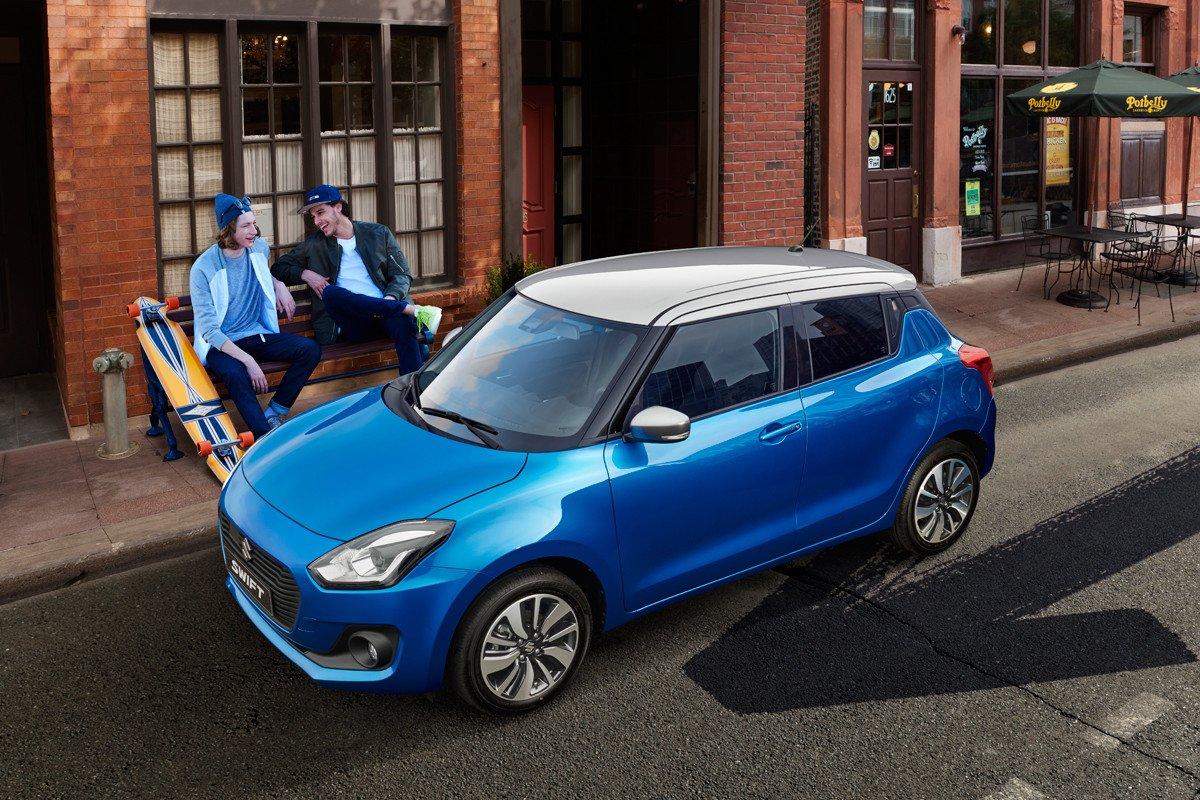 Suzuki Swift SHVS
