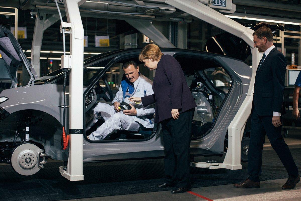 Zwickau Volkswagen fabrica electricos