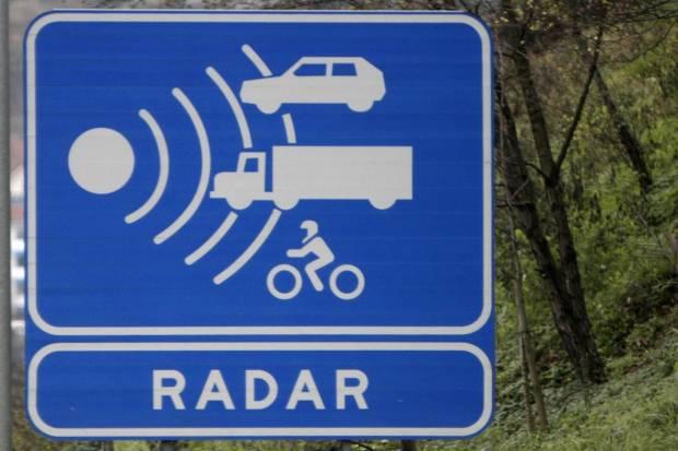 ¿A qué velocidad saltan los radares?