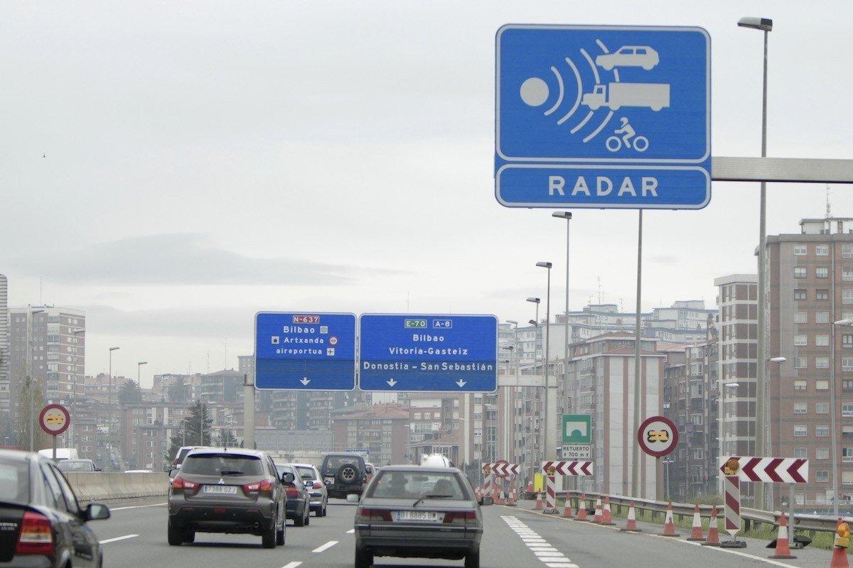 velocidad saltan radares
